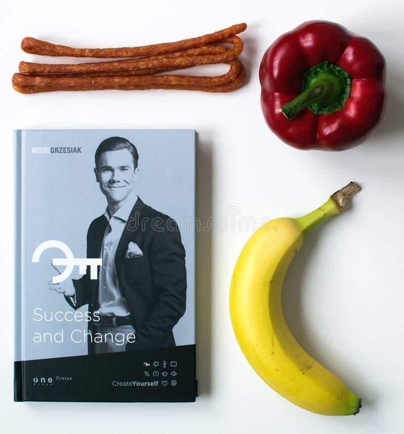 Książka i jedzenie