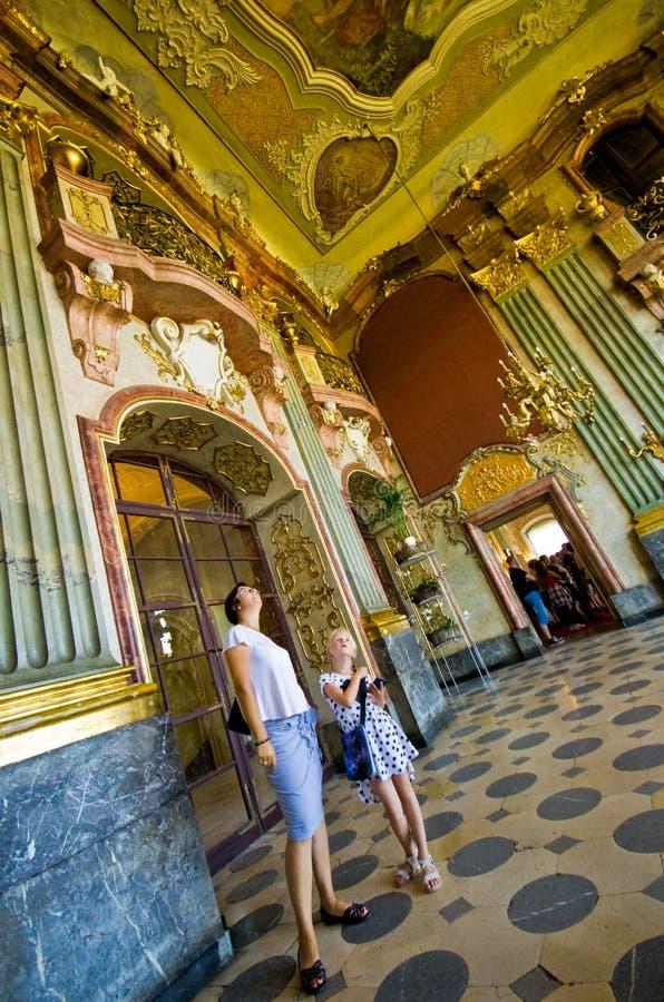 Ksiaz城堡波兰 免版税库存图片