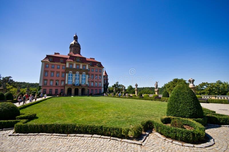 Ksiaz城堡,波兰 免版税库存照片
