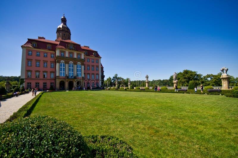 Ksiaz城堡,波兰 免版税图库摄影