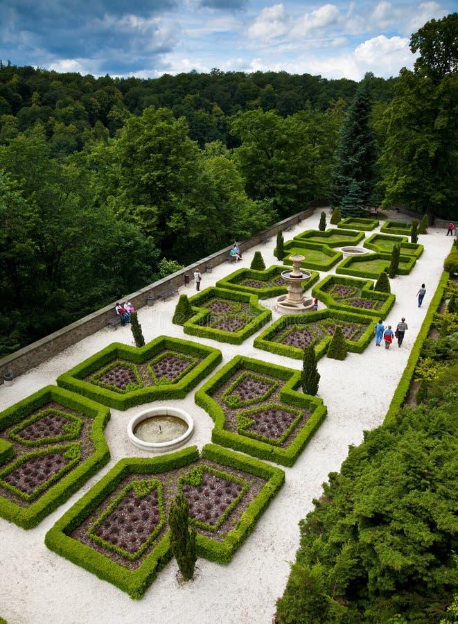 KSIAZ,波兰- 2009年6月7日:Ksiaz城堡是最大的城堡在波兰的西里西亚地区 库存图片