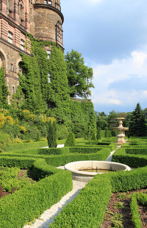 Ksiaz castle royalty free stock photography