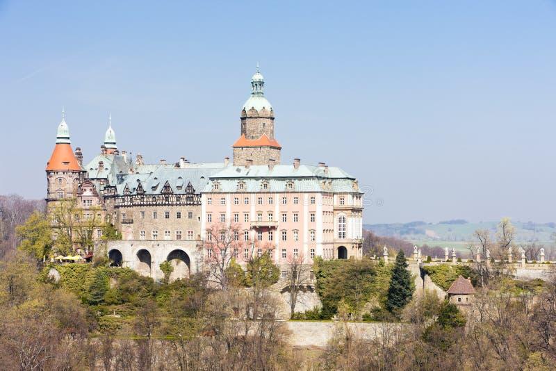 Ksiaz slott arkivfoto