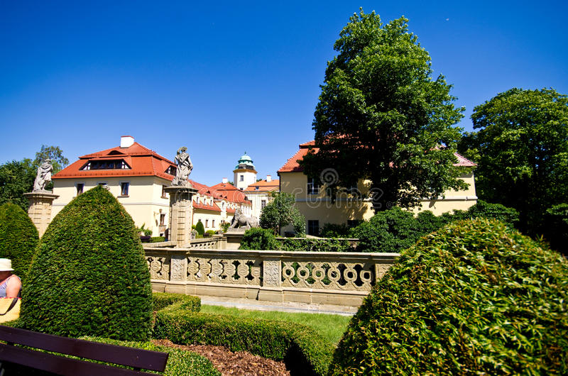 Ksiazkasteel, Polen royalty-vrije stock afbeeldingen