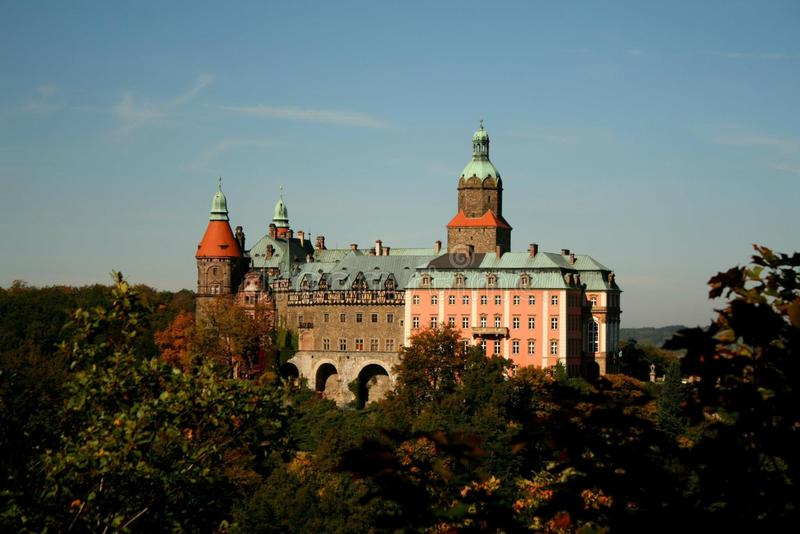 Ksiazkasteel Wroclaw royalty-vrije stock afbeelding