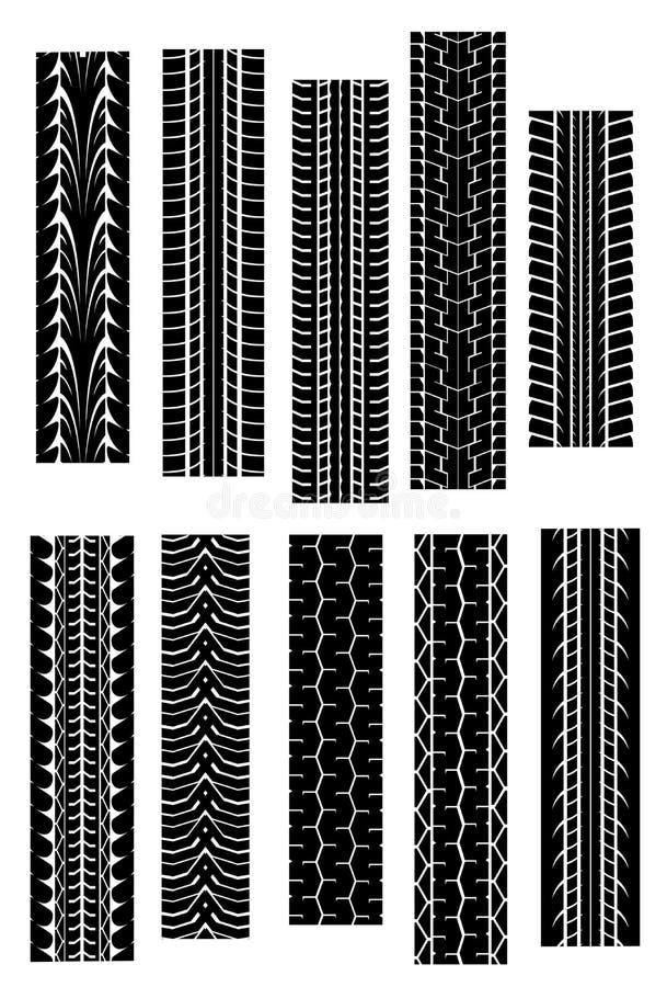 kształt opona ilustracja wektor