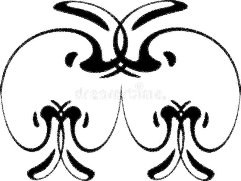 kształt projektu royalty ilustracja