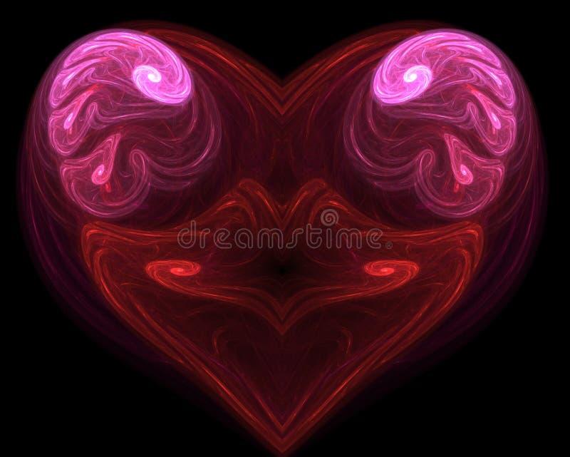 kształt serca royalty ilustracja