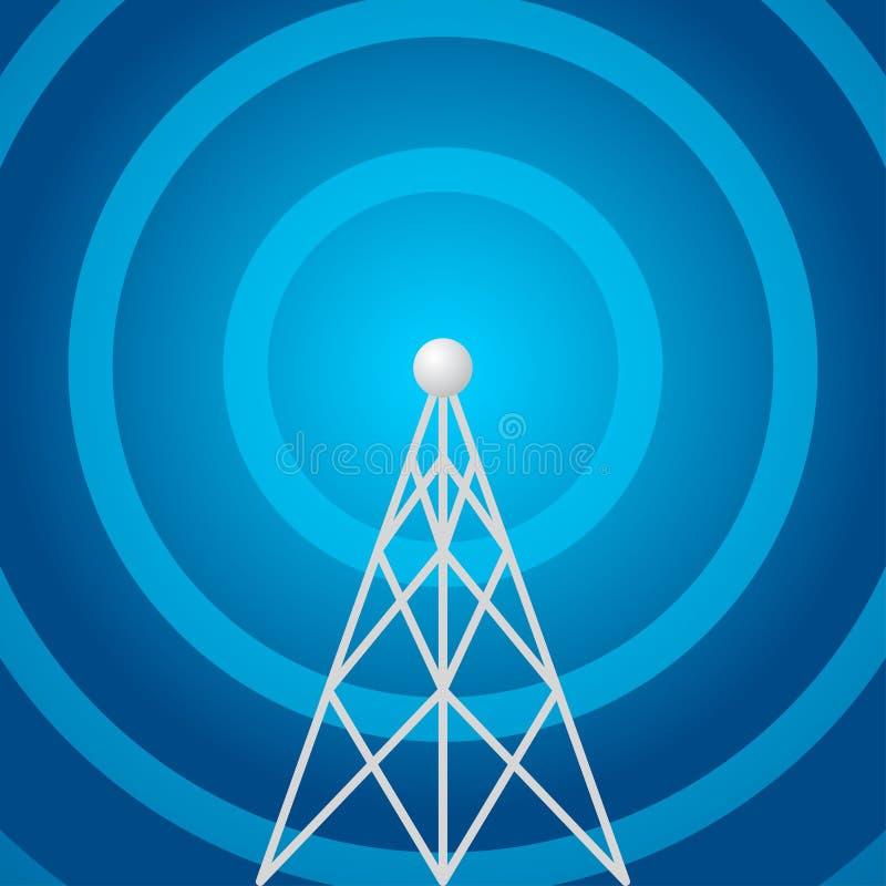 kształta radiowy wierza ilustracji