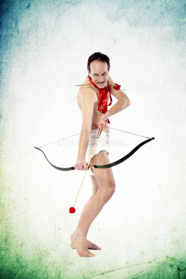 kształtujący amorka strzałkowaty hearth zdjęcie royalty free