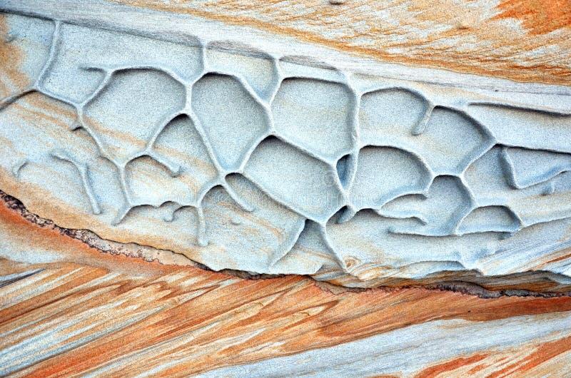 Kształty i wzory wietrzejący piaskowiec zdjęcie royalty free