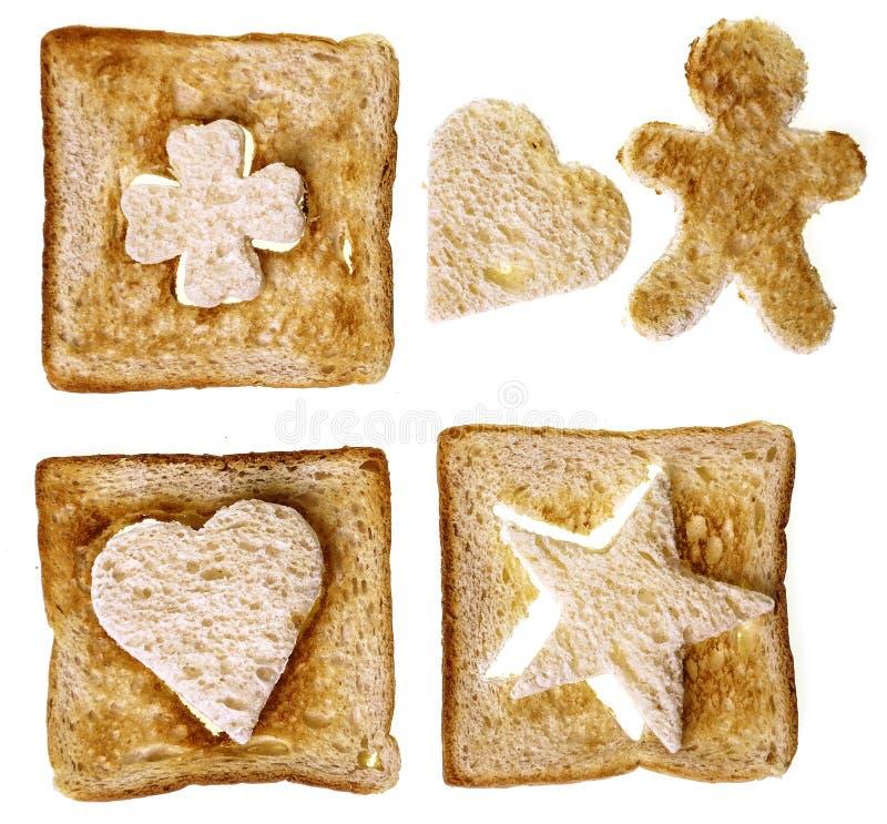 Kształty Od Chleba Zdjęcia Stock
