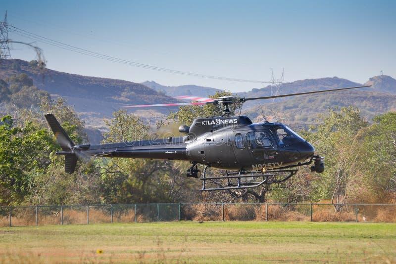 Ktla 5  News Eurocopter AS 350 B2 (2) Editorial Image