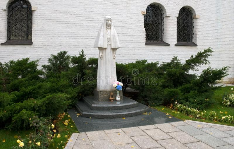 Ku pamięci założyciela monaster zdjęcia royalty free