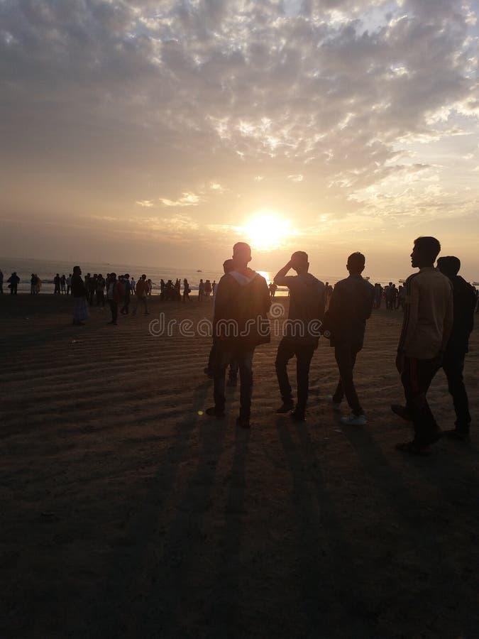 Kuakata słońca sen obraz royalty free