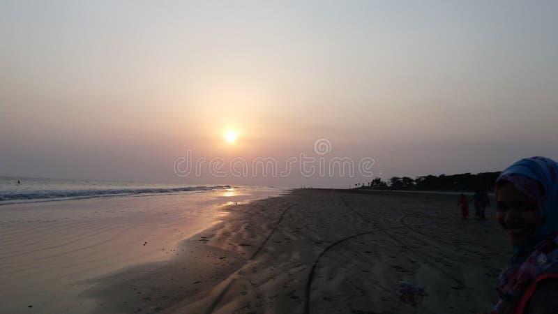 Kuakata słońca sen obrazy stock