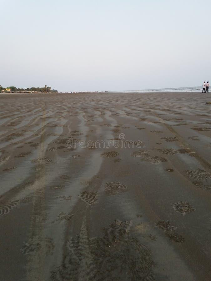 Kuakata widzii plażę zdjęcia stock