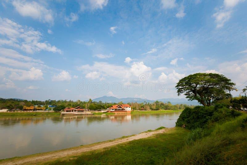 Kuala Kangsar-Stadtbild in Malaysia lizenzfreies stockbild