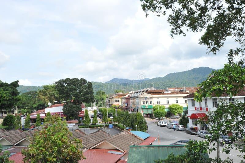 Kuala Kubu miasteczko zdjęcia stock