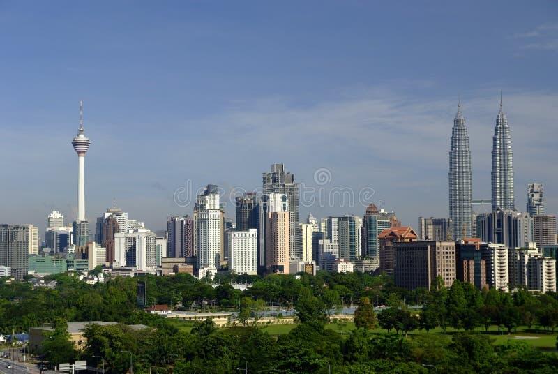 kuala linia horyzontu Lumpur obraz stock