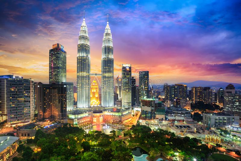 Kuala Lumpur foto de stock