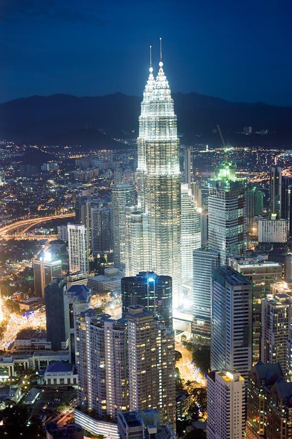 Download Kuala Lumpur fotografering för bildbyråer. Bild av himmel - 19790701