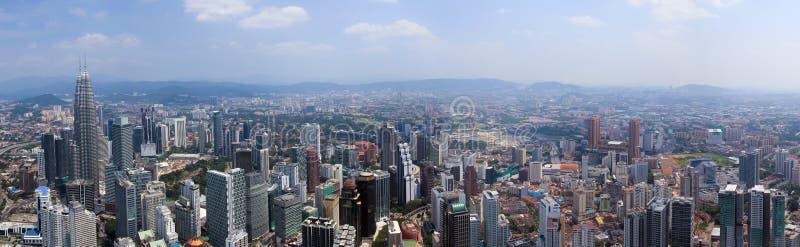 Kuala Lumpur aéreo imagens de stock
