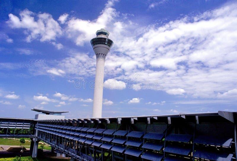Kuala Lumpur Aeroporto Internacional KLIA imagem de stock