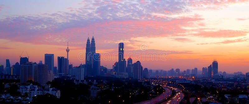 Kuala Lumpur centrum miasta, Malezja zdjęcie royalty free