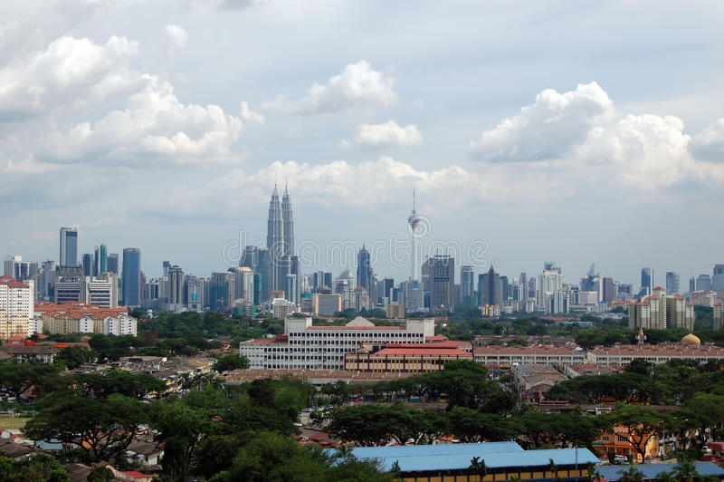 Download Kuala Lumpur City Center Scenic View Royalty Free Stock Photography - Image: 26537337