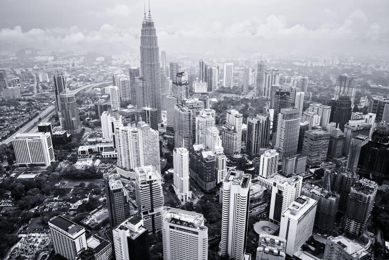 Kuala Lumpur Cityscape stockbild