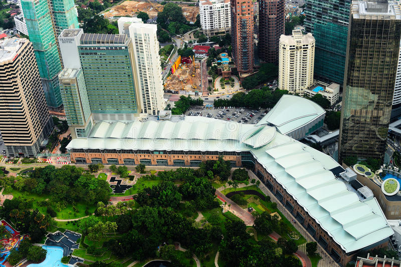 Kuala Lumpur Convention Centre photos stock