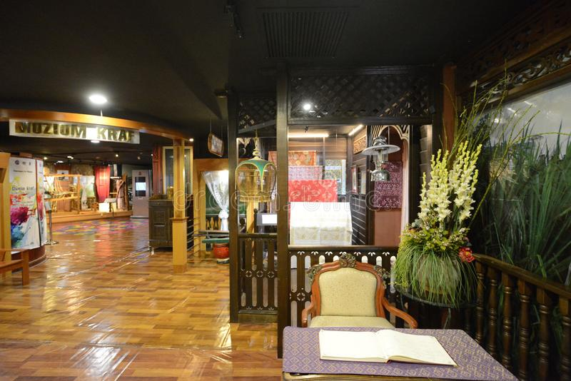 Kuala Lumpur Craft Museum imagens de stock