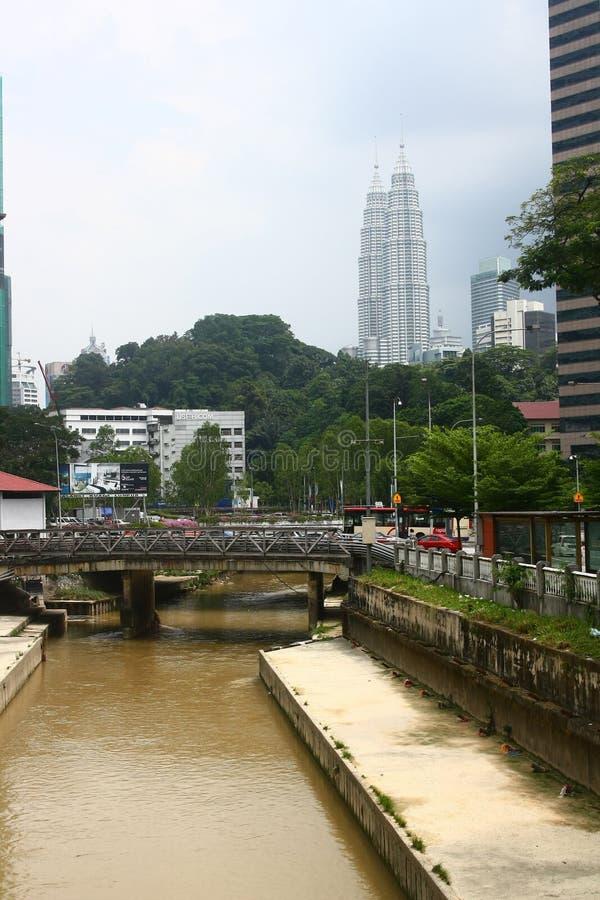 Kuala Lumpur Downtown fotografie stock