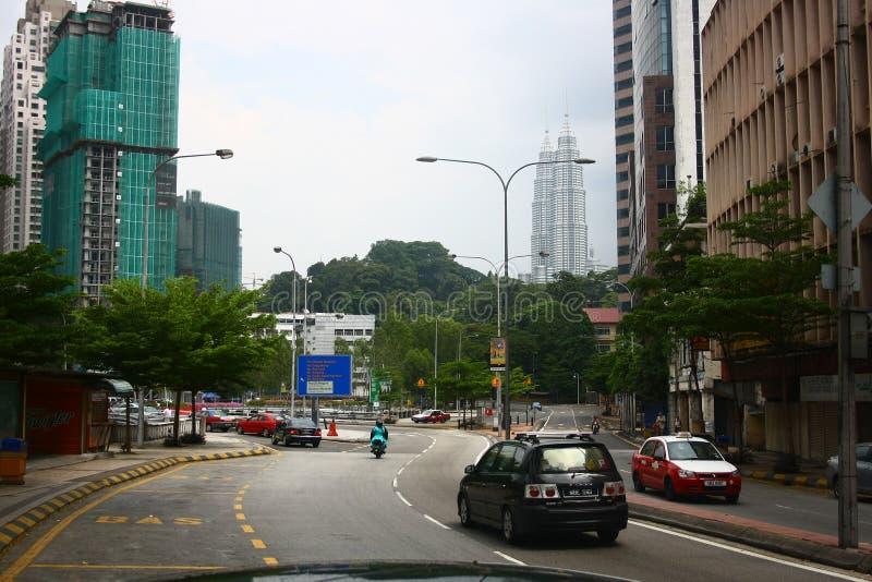 Kuala Lumpur Downtown fotografia stock