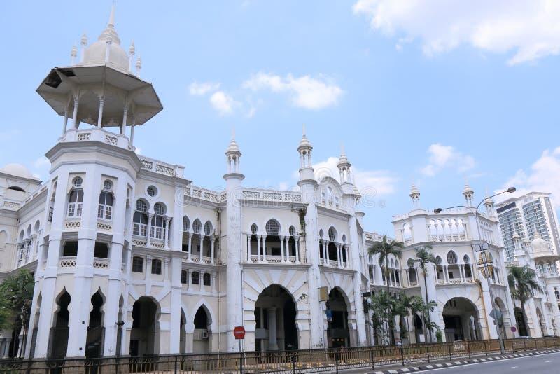 Kuala Lumpur gammal järnvägsstation royaltyfria bilder
