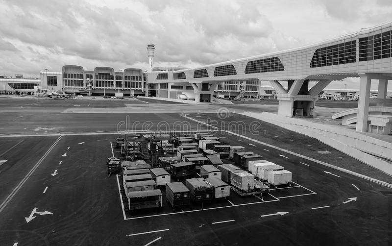Kuala Lumpur International Airport 2 KLIA2 fotos de stock