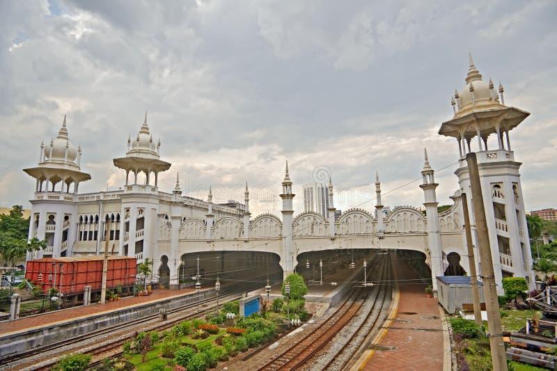 Kuala Lumpur järnvägstation royaltyfria bilder