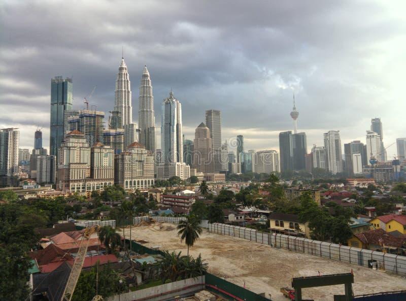 Kuala Lumpur linia horyzontu fotografia stock