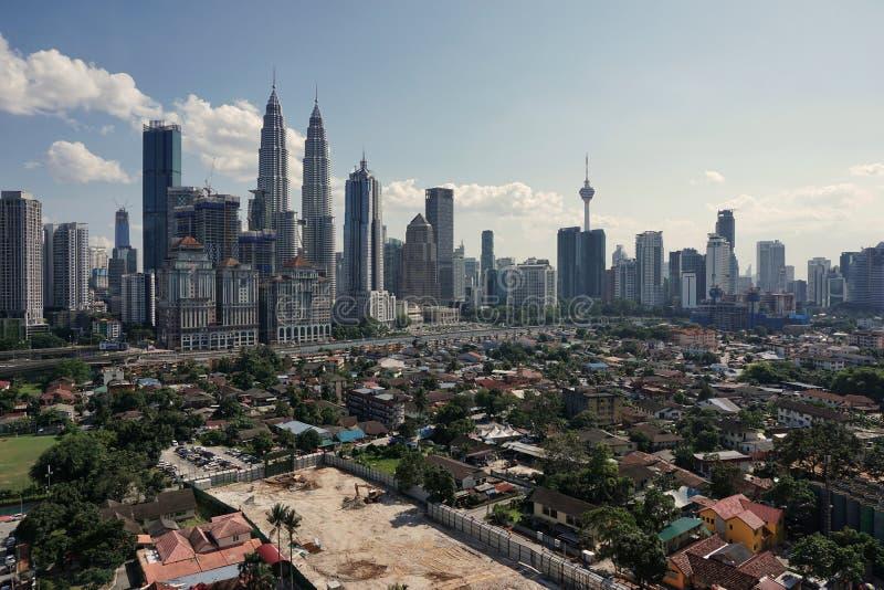 Kuala Lumpur linia horyzontu zdjęcia royalty free