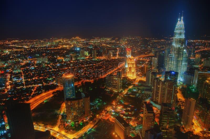 Kuala Lumpur linia horyzontu Malezja obrazy stock