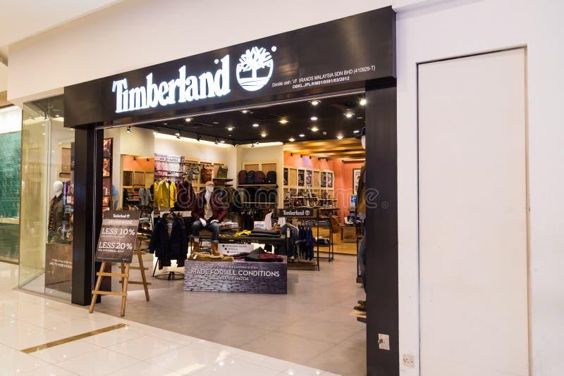 KUALA LUMPUR, MALAISIE - 29 janvier 2017 : Reta de LLC de Timberland image libre de droits