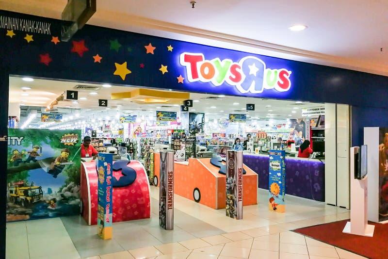 KUALA LUMPUR, Malaisie, le 25 juin 2017 : Toys R Us un jouet américain image stock
