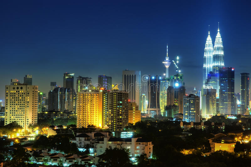 Kuala Lumpur Malasia imagen de archivo