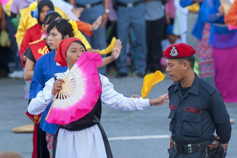 Kuala Lumpur, Malasia, desfile de Merdeka imagen de archivo libre de regalías