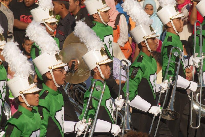 Kuala Lumpur, Malasia, desfile de Merdeka foto de archivo
