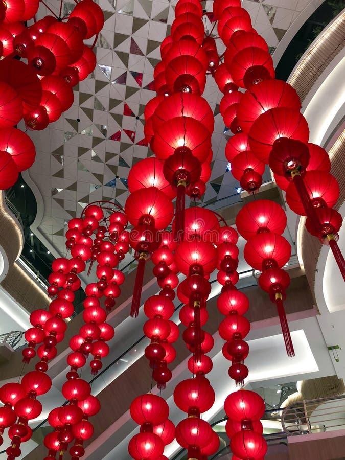 KUALA LUMPUR, MALASIA febrero de 2018:- el Año Nuevo chino es foto de archivo