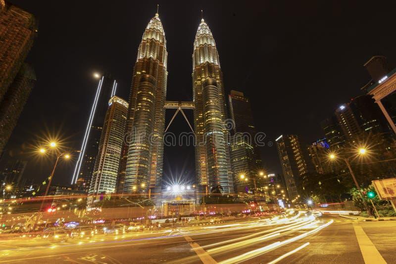 KUALA LUMPUR/MALAYSIA - 21-04-2019. The Amazing of Architecture of KLCC stock photos