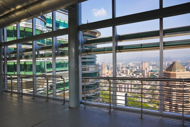 Kuala Lumpur (Malaysia) city view royalty free stock photo