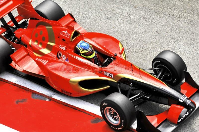 Kuala Lumpur malaysia för bil 2006 a1 race royaltyfri fotografi